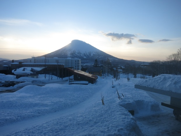 Mt Yotei at dawn